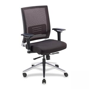 Lorell 90041 Executive Chair - Black - 1 Each