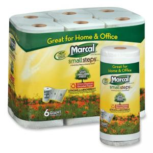 Marcal 2 Ply Quilted Roll Paper Towel - 150 sheets/roll