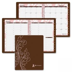 "Mead At-A-Glance Sorbet Weekly/Monthly Appointment Book (AAG794905) Weekly, Monthly - 8.50"" x 11"" - 1 Year - January till Decemb"