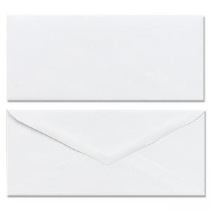 Mead Plain Business Size Envelopes - 100 Pack - White