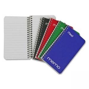 Hilroy Coil Memo Notebook - 60 Sheets