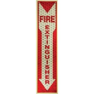 Millers Creek Luminous Fire Extinguisher Sign