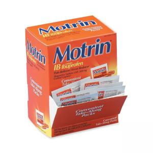 Motrin IB Pain Reliever - 50 / Box