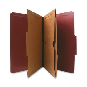 Nature Saver Classification Folder -  Red - 10 / Box