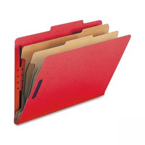 Nature Saver Classification Folder - 10  box - Light Red