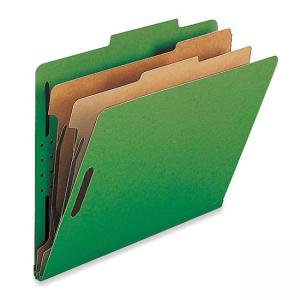 Nature Saver Classification Folder - 10 / Box - Green