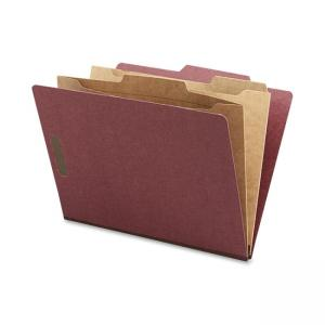 Nature Saver Classification Folder - 10 / Box - Red