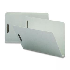 Nature Saver Pressboard Fastener Folder - 25 / Box - Light Gray