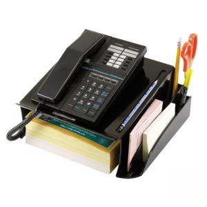 OIC Series Telephone Stand - 1 Each - Black
