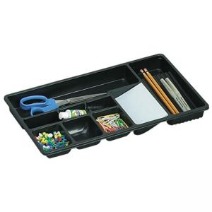 OIC Economy Drawer Tray - 1 Each - Black