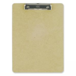 OIC Low-profile Clipboard - Light Brown - 1 Each