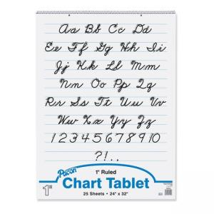 Pacon Chart Tablet - White
