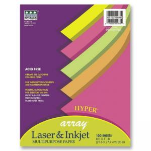 "Pacon Array Bond Paper Assortment - Letter 8.50"" x 11"""