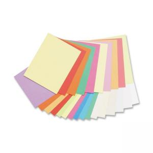 Pacon Array Pastel/Bright Colors Jumbo Card Stock - 250 / Pack