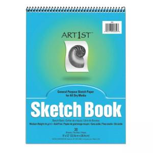 "Pacon Art1st Sketch Book - 9"" x 12"""