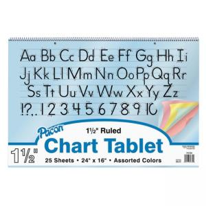 Pacon Colored Paper Chart Tablets - 1  Each