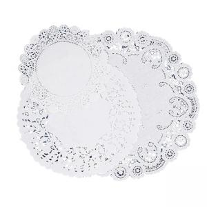 Pacon Deluxe Art Tex Doilies - 30 / Pack - White