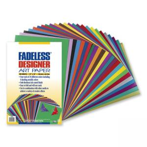 Pacon Fadeless Designer Assortment - 100 / Pack - Multicolor