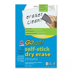 Pacon GoWrite! Dry Erase Sheet - 5 / Pack