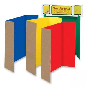 Pacon Spotlight Single Walled Corrugated Presentation Board - 24 / Set - Assorted Colors