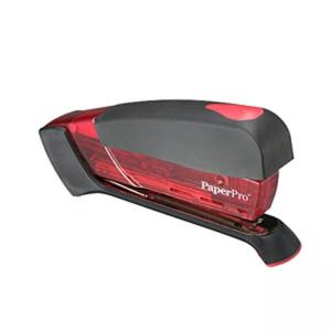 PaperPro 1000 Desktop Stapler - Translucent Red - 1 Each