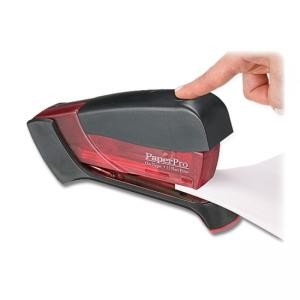 PaperPro Compact Stapler - Translucent Red - 1 Each