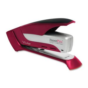 PaperPro Prodigy Spring Powered Stapler - Red-White - 1 Each