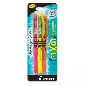 Pilot Frixion Light Erasable Highlighter Assorted Colors - 3 / Pack