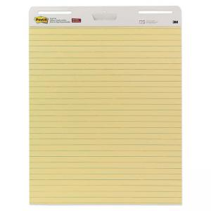 Post-it Self-Stick Ruled Easel Pad - 2 / Carton