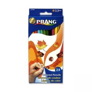 Prang Colored Pencils - Assorted - 24 / Set