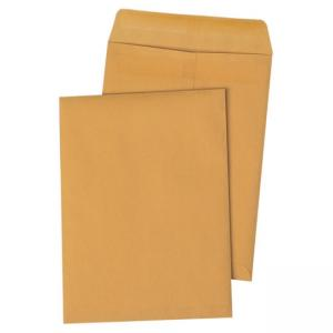 Quality Park Redi-Seal Catalog Envelope 100 / Box - Kraft