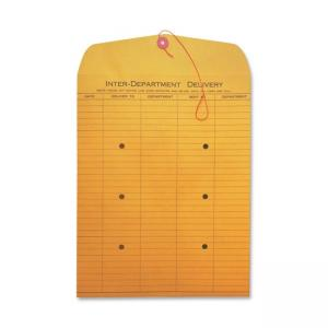 Quality Park Standard Style Inter-Department Envelopes - 100 / Box - Kraft