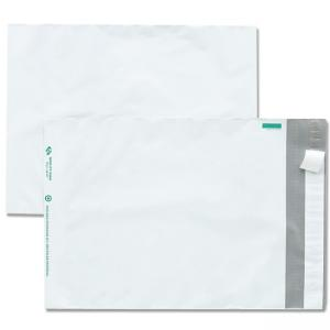 Quality Park Poly Envelopes With Perforation -  100 / Pack - White