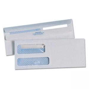 Quality Park Redi-Seal Double Window Envelope