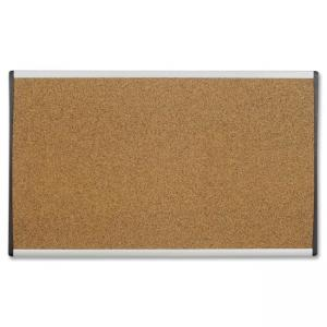 "Quartet Arc Bulletin Board - 18"" x 30"" - Cork"