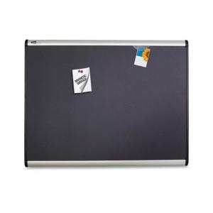 "Quartet Magnetic Fabric Bulletin Board -24"" x 36"""