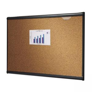 "Quartet Prestige Colored Cork board -24"" x 36"""