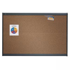 "Quartet Prestige Colored Cork board - 48"" x 72"""