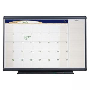 Quartet Total Erase Monthly Wall Calendar - Monthly