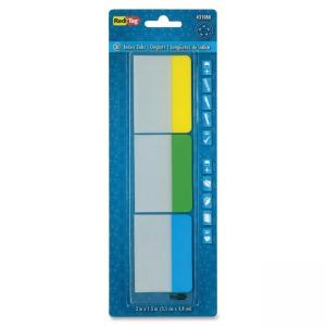 Redi-Tag Page Manager Index Tabs - Write-on - 90 / Pack - Yellow, Green, Blue Tab