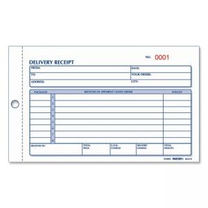 Rediform Delivery Receipt Book