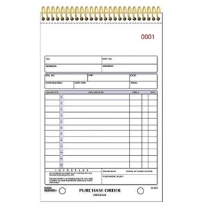 Rediform Gold Standard Purchase Order Book
