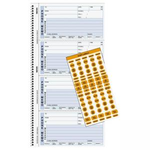 Rediform Professional Line Memo Style Phone Book - 100 Sheets