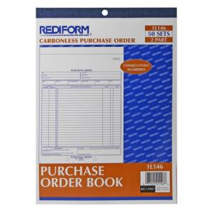 "Rediform Purchase Order Form - 2 Part - 11"" x 8.5"""