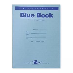 Roaring Spring Blue Examination Book - 16 Sheet