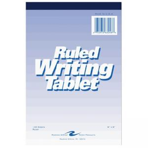 Roaring Spring Ruled Writing Tablet - 100 Sheet