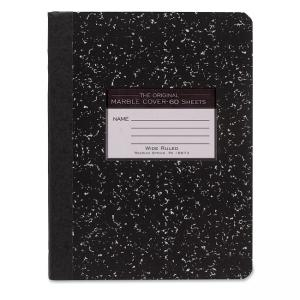 Roaring Spring Tape Bound Composition Notebook - 60 Sheet