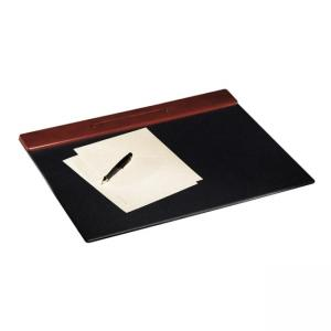 Rolodex Wood Tones Desk Pads - Mahogany - 1 Each