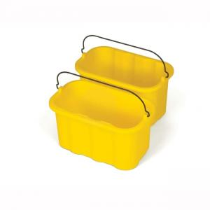 10 Quart Sanitizing Caddy Rubbermaid - Yellow