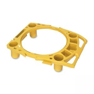 Rubbermaid Brute Rim Caddy - 1 Each - Yellow